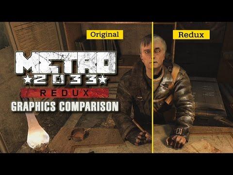 Metro 2033 Redux - Graphics Comparison