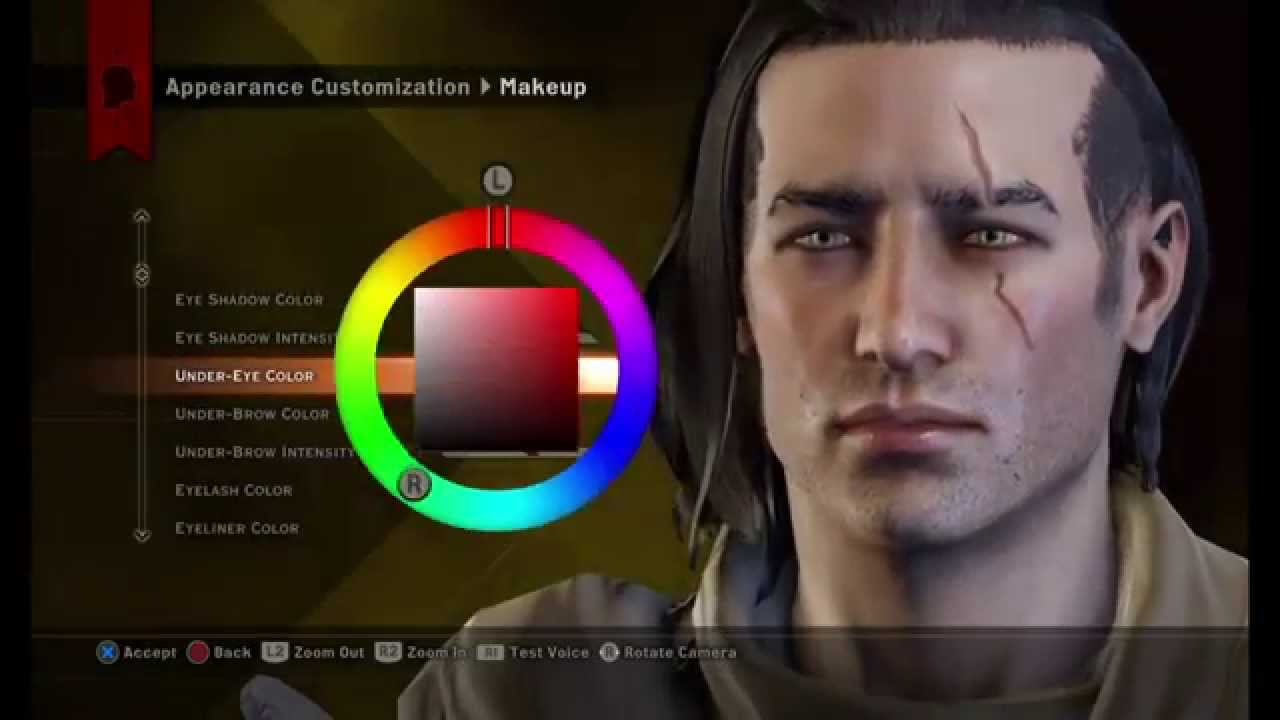 Dragon age: Inquisition-Aaron Trevelyan sliders (PS4/NO MODS)