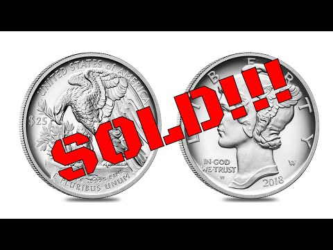 I Sold My 2018 Proof Palladium American Eagle And Shout Outs!