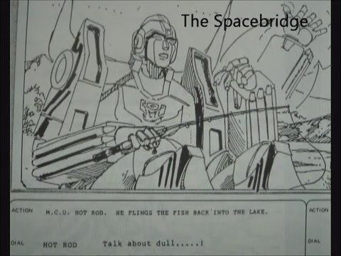 Transformers The Movie 1986 Animated Scene from original production