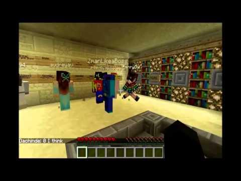 Minecraft: Ghostcraft with pdavinci and nopresnik ... Skype FTW!!!