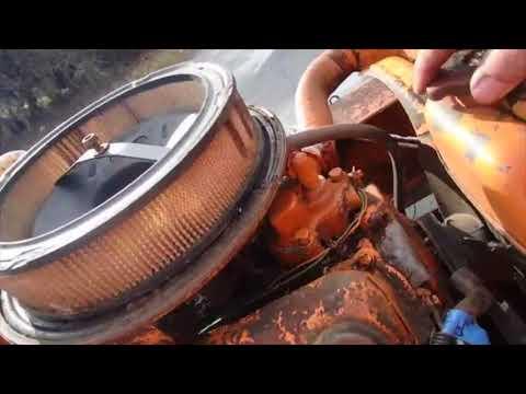 V4 Ford Saab powered Wood Splitter