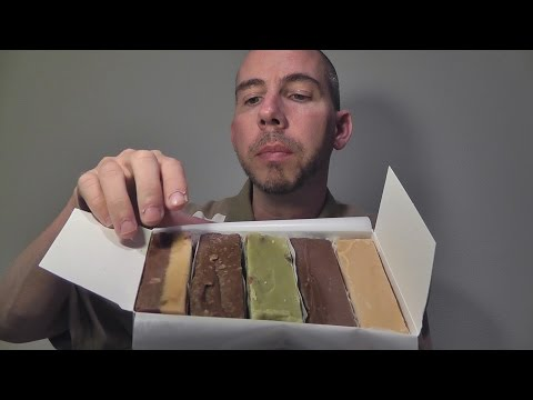 ASMR Whispered Tasting Session of Boardwalk Candy from Ocean City New Jersey