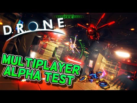 D.R.O.N.E - Multiplayer is finally working!!!