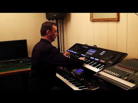 Download Youtube: Game of Thrones Main Tittle Ramin Djawadi Yamaha Genos Roland G70 By Rico