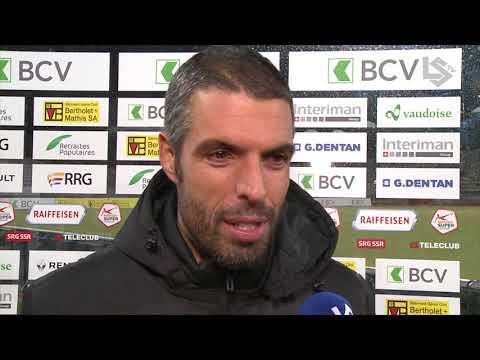 LSTV: FC Lausanne-Sport - FC Zurich, interview d'après-match avec Fabio Celestini