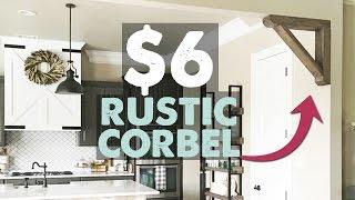 DIY Rustic Corbel | Shanty2Chic