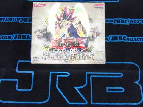YuGiOh 2004 Ancient Sanctuary 1st Edition Sealed Booster Box! Best Opening/Unboxing! #DylanMoments