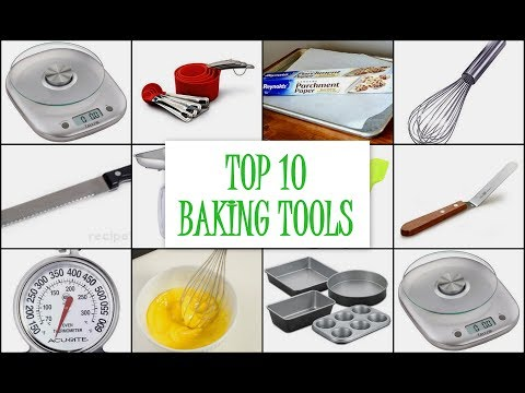 TOP 10 BAKING TOOLS | Must Have Tools For New Bakers