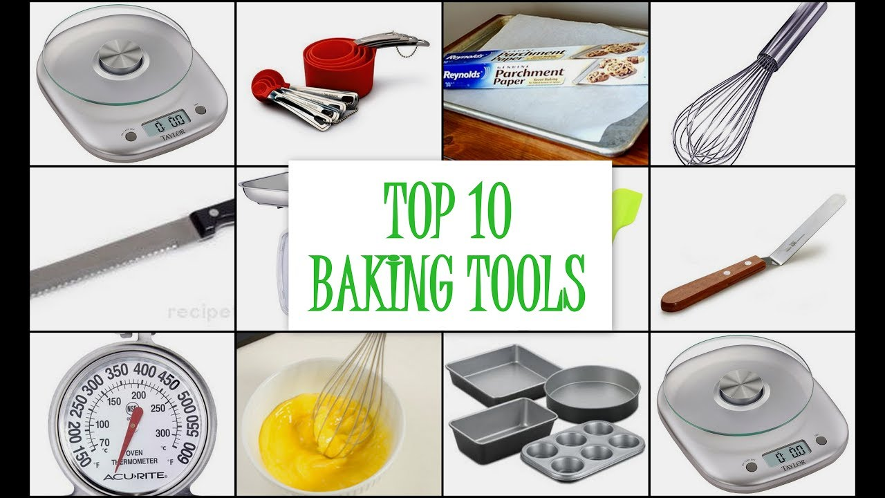 TOP 10 BAKING TOOLS | Must Have Tools for new Bakers - YouTube