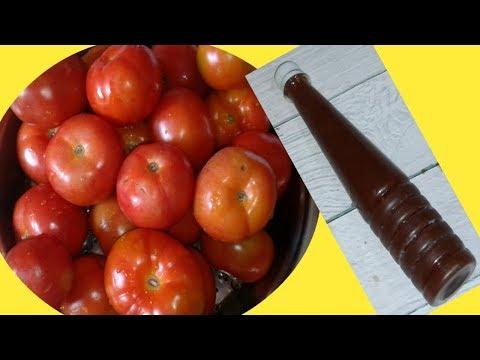 DIY II Tometo Sauce Recipe I Tomato Ketchup I টমেটো সস I टमाटर का सौस I Reshmikitchenfoodnfun