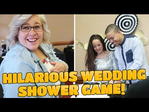 HILARIOUS WEDDING SHOWER GAME! LAVIGNE WEDDING WEEKEND!