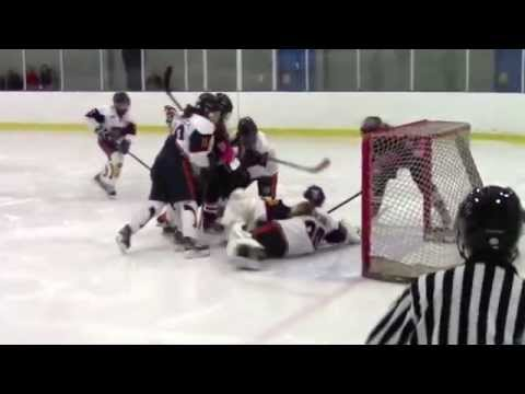 10-26-14 Chicago Fury U16's vs Barrie Sharks