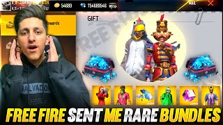 I Got New Rare Bundle From Free Fire 😍20,000 Diamond Waisting For New Bundle - Garena Free Fire
