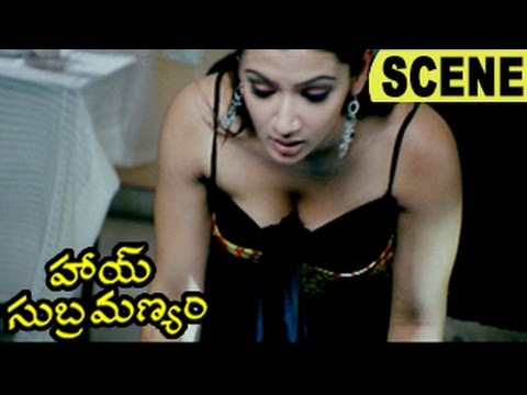 Gautham Cheats Aarthi Agarwal As Innocent - Glamorous Scene || Hai Subramanyam Movie Scenes