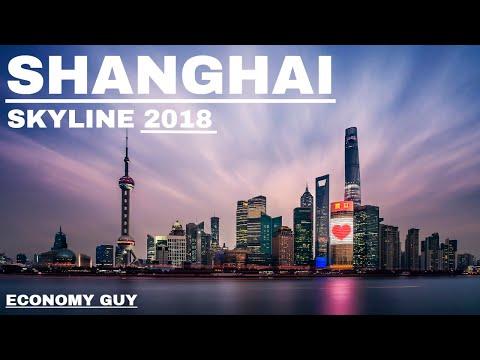 Shanghai's Skyline 2018