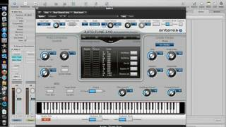 how to auto tune with logic pro 9