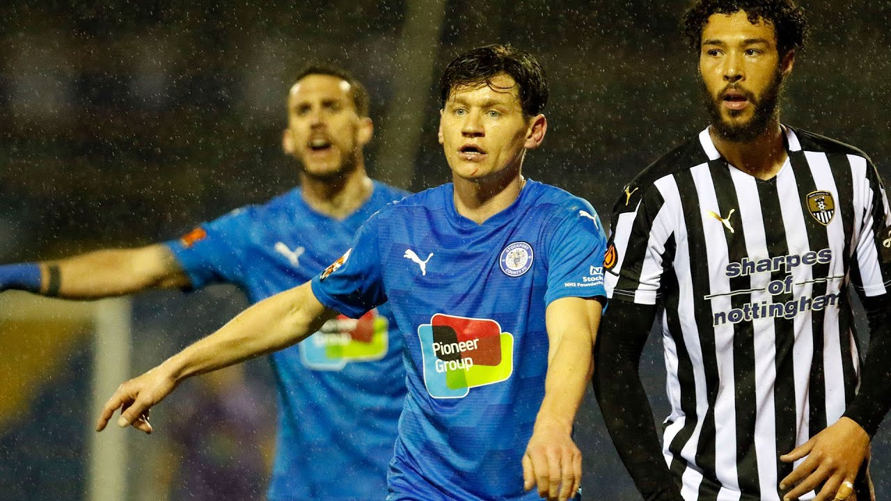 Stockport County Vs Notts County - Match Highlights - 23.02.21