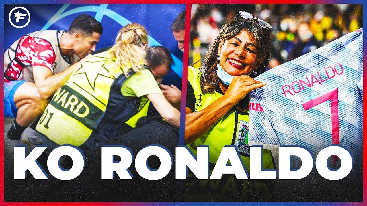L'INCROYABLE SOIRÉE d'une stadière avec Cristiano Ronaldo | JT Foot Mercato