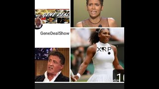 SLICK, SYLVESTER STALLONE AND SAVING HALLE BARRY AND SERENA WILLIAMS