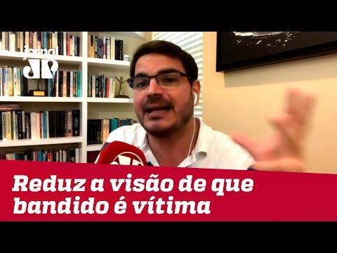 Lei anticrime reduz visão de que bandido é vítima da sociedade | #RodrigoConstantino