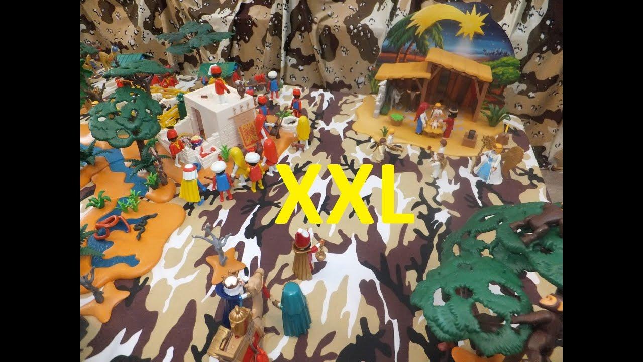 Playmobil Weihnachtskrippe.Grosse Playmobil Weihnachtskrippe Christmas Nativity Scene