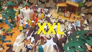 Große Playmobil Weihnachtskrippe - Christmas Nativity Scene