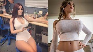 Создана реалистичная секс-кукла которая имитирует оргазм