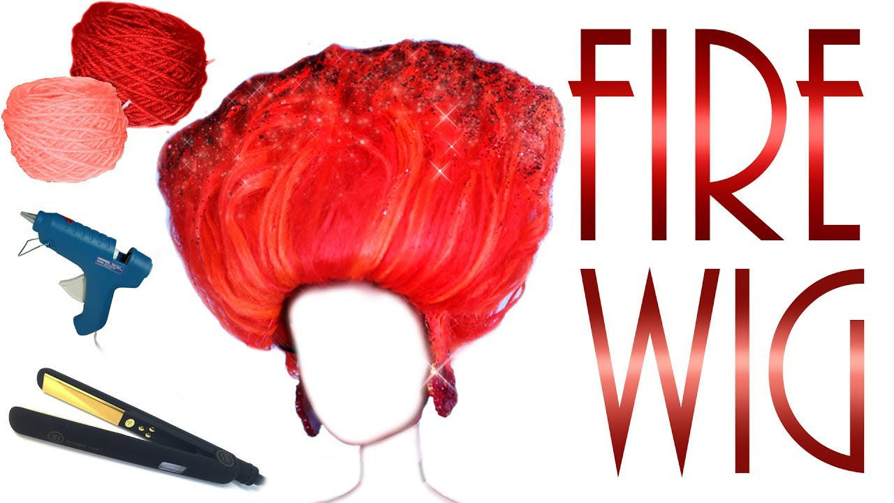 Fire Inspired Doll Wig [ AJA RPDR ]