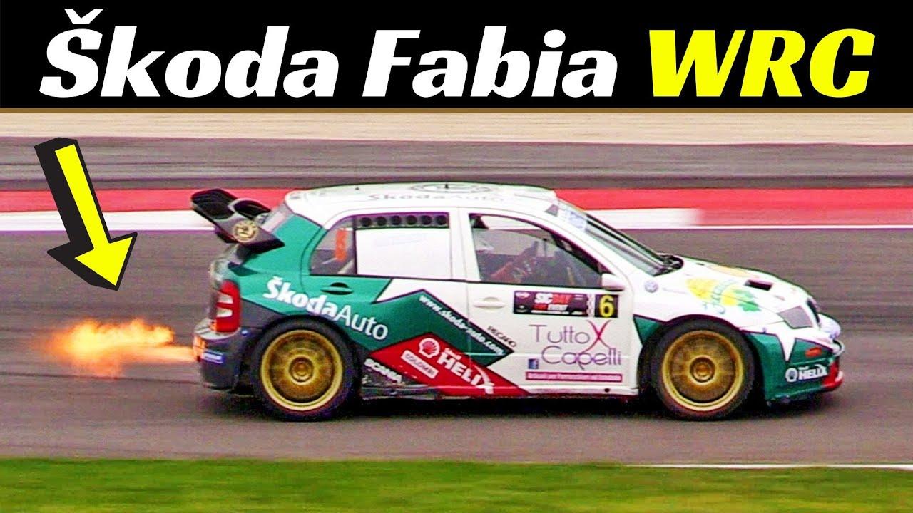Škoda Fabia WRC Rally Car Tribute - CRAZY Anti-Lag Backfires💥, Launch-Control, Thunders & More!