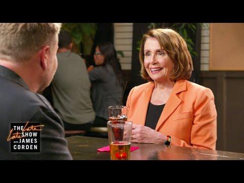 Leader Nancy Pelosi Talks Politics at the Pub