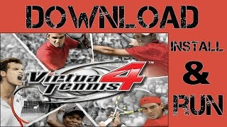 How to download Virtua Tennis 4 for pc free full version