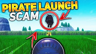 *NEW SCAM* The Pirate Canon Launch Scam! (Scammer Gets Scammed) In Fortnite Save The World Pve