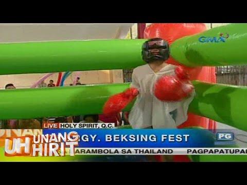 Unang Hirit: UH Barangay Beksing Fest sa Quezon City