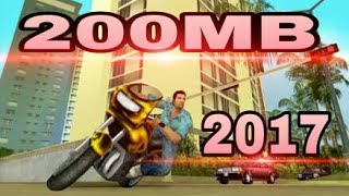 NEW 2017! How to Download GTA Vice city for Android [Highly Compressed 200mb only]