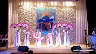 �������� ���� Корейский ансамбль Туруми   Танец с веерами ������
