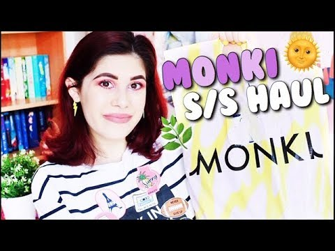 MONKI SPRING/SUMMER TRY ON HAUL 🌿 | FRANALIBI