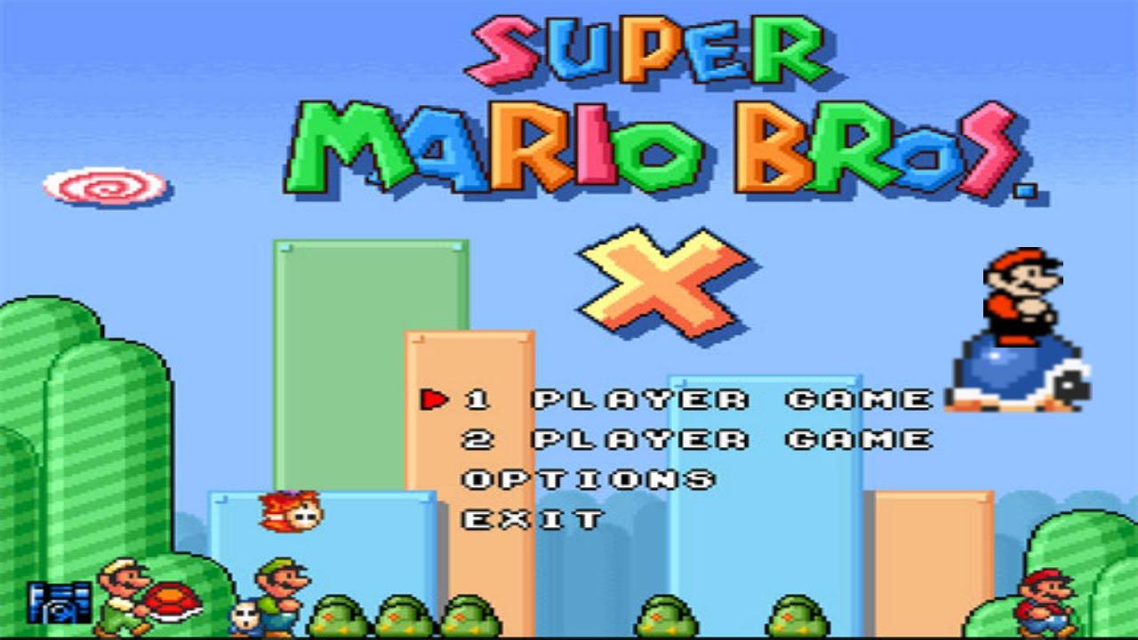 super mario bros x game download