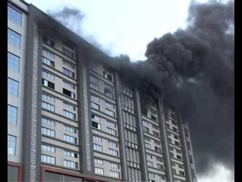 Big Fire In Surat Textile Market