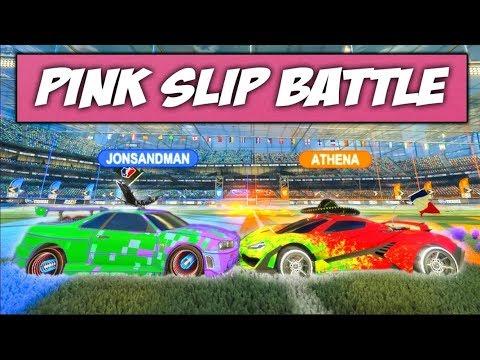 PINK SLIP BATTLE Against Athena!!!