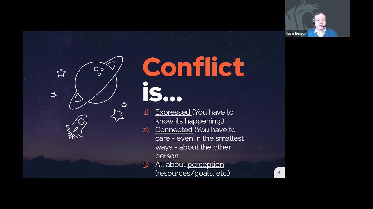 Image for Cougar Career Academy: Navigating Interpersonal Conflict webinar