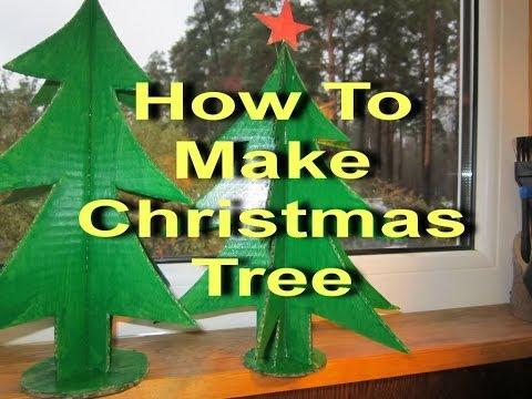 Смотреть онлайн Как Сделать Елку How To Make Christmas Tree Своими Руками