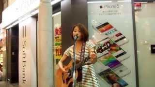 森恵さんのストリートライブです。 この曲が聴けた感激をみなさんにも。