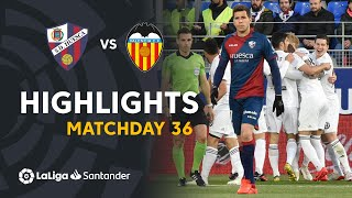 Highlights SD Huesca vs Valencia CF (2-6)