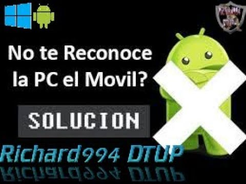 Solucion Definitiva Al   Error  « MTP USB Device  » Mi PC No Reconoce Mi Celular