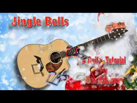 Jingle Bells - Acoustic Guitar Lesson (easy)