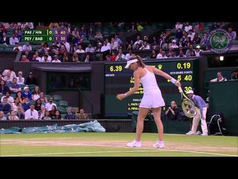 Leander Paes & Martina Hingis vs Alexander Peya & Timea Babos