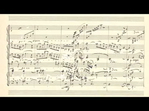 "Gustav Mahler - Symphony no. 5 ""Adagietto"" 4th movement (1902) (Audio + Manuscript)"