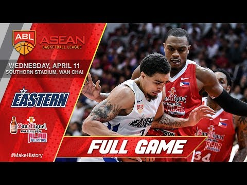 Hong Kong Eastern vs San Miguel Alab Pilipinas | LIVESTREAM | 2017-2018 ASEAN Basketball League