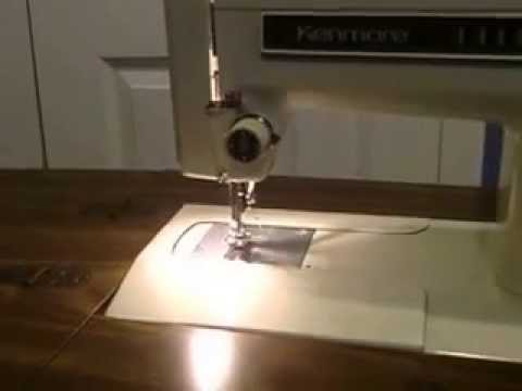 Kenmore Sewing Machine And Table Youtube